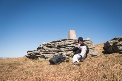Jen za kamenem se dá skrýt před větrem, Kráľova hoľa, Nízké Tatry, Slovensko