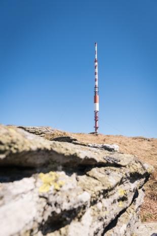 Vysílač na Kráľove hoľe, Nízké Tatry, Slovensko